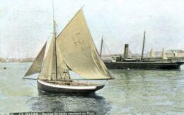 N°70275 -cpa Le Havre -barque De Pêche Rentrant Au Port- - Port