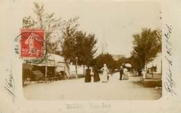 Dép 17 - Fouras Les Bains - Une Rue - Carte Photo - Bon état Général - Fouras-les-Bains