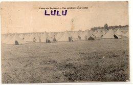 DEPT 37 : édit. Chocolat Louit : Camp De Ruchard Vue Générale Des Tentes - France