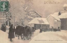 Hauteville Lompnes Neige - Hauteville-Lompnes