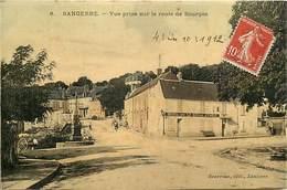 Dpts Div.-ref-AG130- Cher - Sancerre - Vue Prise Sur La Route De Bourges - Hotel De La Belle Etoile - Hotels - - Sancerre