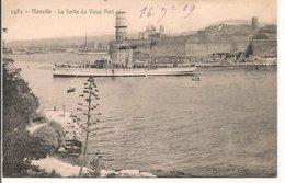 L200A365 - Marseille - La Sortie Du Vieux Port En 1909 - Vieux Port, Saint Victor, Le Panier