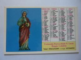 """Calendario Tascabile """"Comunità Parrocchiale S. Lucia Reggio Calabria"""" 1999 - Calendari"""
