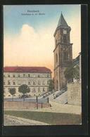 AK Hornbach, Schulhaus Mit Ev. Kirche - Sin Clasificación