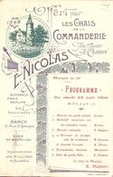 NANCY - Statue De Claude Gelée Avec Publicité Et - Nancy