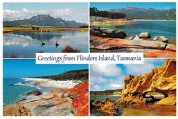 1 AK Flinders Island * Mt. Strzelecki - Trouser Point - East Coast - Marshall Bay - Insel Zw. Australien Und Tasmanien * - Autres
