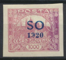 Tschechoslowakei Oberschlesien 25Aa * - Tschechoslowakei/CSSR