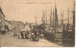 L200A368 - Marseille - Le Quai Du Port  - G.M N°288 - Bien Animée - Vieux Port, Saint Victor, Le Panier