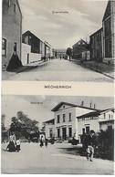 Old Postcard, Germany, Mechernich, Querstrabe, Bahnhof, Train Station, Mechernich. - Euskirchen