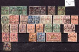 """Kleine Sammlung Fraz. Briefmarkenausgaben """"MAROC"""", Gestempelt, Hoher Katalogwert, Gem. Scan, Los 50987 - Marokko (1891-1956)"""
