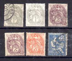 """Kleine Sammlung Franz. Briefmarkenausgaben """"KRETA"""", Ohne Gummi Oder Gestempelt, Gem. Scan, Los 50986 - Gebraucht"""