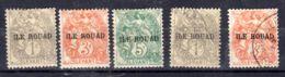 """Kleine Sammlung Franz. Briefmarkenausgaben """"Ile Rouad"""", Mit Falz Oder Gestempelt, Gem. Scan, Los 50989 - Rouad (1915-1921)"""