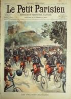 LE PETIT PARISIEN-1901-651-CYCLISTE MILITAIRE-ATTENTAT PIERRE NAUDIN-DIRIGEABLES TOUR EIFFEIL PARIS 7 - Journaux - Quotidiens