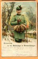 Man1254, Wilhelm II, Deutscher Kaiser, Roi D'Allemagne, Renard, Fox, Précurseur, Circulée 1900 - Royal Families
