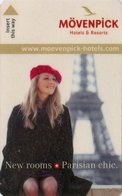 FRANCIA KEY HOTEL  Mövenpick - Hotel Paris Neuilly - Hotel Keycards