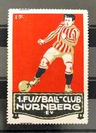 Germany Vintage Poster Stamps Football Soccer . - Cinderellas