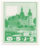 Denmark, Proof, O.S.J.S. Railway Parcel Stamp - Danimarca