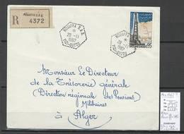Algerie - Lettre - Cachet Hexagonal ROUAFFA SAS - Novembre 1962  - Marcophilie - Algérie (1924-1962)