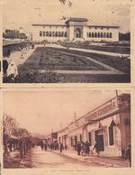 Lot De 2 Cp-taza -casino Cinema / Casablanca -palais De Justice - Maroc