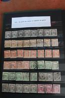 1915     -   POUR  LES  VEUVES  ET  LES  ORPHELINS  DE  GUERRE     ACCUMULATION  EN  TIMBRES *  ET  OBLITERES - Hongrie