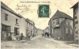 FAUX LA MONTAGNE .... LA GRANDE RUE - Chenerailles