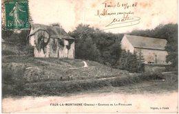 FAUX LA MONTAGNE .... CHATEAU DE LA FEUILLADE - Chenerailles