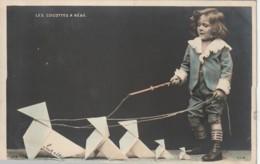 ***  ENFANT  ***  Les Cocottes à Bébé - Précurseur Timbré TTB - Cartes Humoristiques