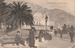 *** MOMNTE CARLO  *** Devant Le Casino  Timbrée France Précurseur TTBE - Monte-Carlo