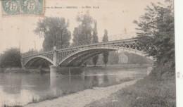 ** *  94  ***  CRETEIL Le Pont  TB (quelques Rousseurs) - Creteil