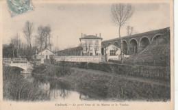 ** *  94  ***  CRETEIL  Le Petit Bras De La Marne Et Le Viaduc TTB - Creteil