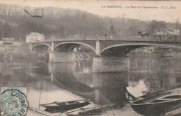 ** *  94  *** LA VARENNE  Le Pont De Chenevieres  Amorce Petits Plis - - France