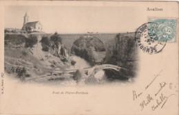 ** *  89  ***  Pont De Pierre Perthuis AVALLON - TTB - Avallon