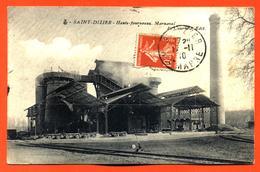 """CPA 52 Saint Dizier - Marnaval """" Hauts Fourneaux """" - Saint Dizier"""