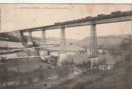 ** * 23  *** BUSSEAU D'ahun  Le Viaduc Du Chemin De Fer Quelques Taches  Timbrée - France