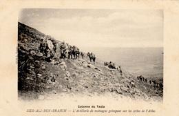Guerre Au Maroc - Colonne Du TADLA - Sidi Ali Ben Brahim - L'Artillerie De Montagne Dans L'Atlas - TBE - Guerres - Autres