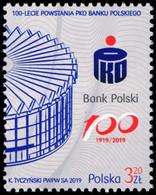 Poland 2019 Fi 4939 Mi 5089 100th Anniversary Of The Establishment Of PKO Bank Polski - 1944-.... República