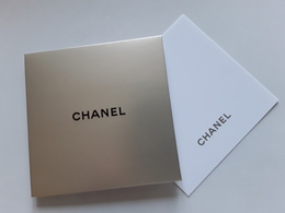 "CHANEL ~~~  "" Carte + Enveloppe    "" - Perfume Cards"