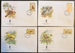 IAF - FDC Premier Jour - Oiseaux - Bhutan - 1989 - Oiseaux