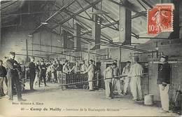 Dpts Div.-ref-AG119- Aube - Mailly Le Camp - Interieur De La Boulangerie Militaire - Boulangers - Metiers - Militaria - - Mailly-le-Camp