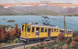 AR09 Lago Maggiore, Panorama Con La Ferrovia Stresa-Mottarone - Verbania