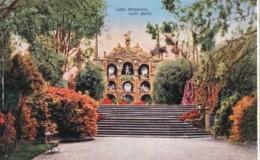 AR09 Lago Maggiore, Isola Bella - Terraced Garden With Wall Of Statues - Verbania