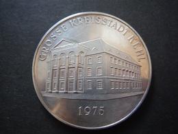 Médaille BE 1975 - Grosse Kreisstadt Kehl - Silver - [ 7] 1949-… : RFA - Rép. Féd. D'Allemagne