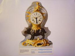2019  (598)  :  PENDULE  Au  SANGLIER D'époque Louis XV  -   PUB Pharmaceutique  X - Jewels & Clocks