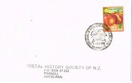 31918. Carta KAWERAU (New Zealand) 1986. Centenario Erupcion MOUNT TARAWERA, VOLCAN, Vulcan - Nueva Zelanda