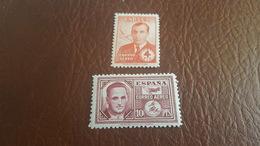 ESPAÑA  Serie 991/992  (charnela) - 1931-Aujourd'hui: II. République - ....Juan Carlos I