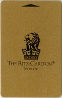 RUSSIA KEY HOTEL  The Ritz-Carlton Moscow ( Louvre ) - Hotelkarten