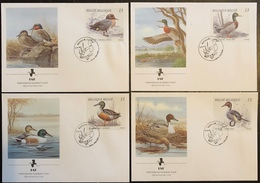 IAF - FDC Premier Jour - Oiseaux - Belgique - 1989 - Vögel