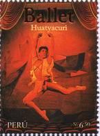 Lote P2008-12, Peru, 2008, Sello, Stamp, Ballet, Huatyacuri, Dance - Perú