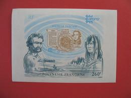 Bloc Feuillet    Polynésie Française  1987  260 F  - N° 13 - Blocchi & Foglietti