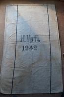 Sacco In Juta Per La Posta H.Vpfl 1942 Della Germania Nazista Del Terzo Reich-Originale E Integro Al 100% - 1939-45